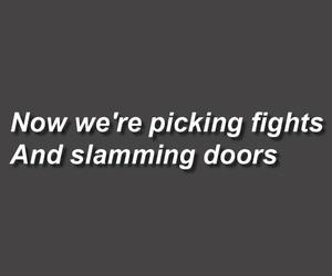 album, fight, and lyric image