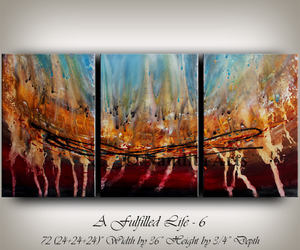 abstractpaintings, originalpaintings, and Abstract Painting image