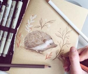 animal, drawing, and illustration image