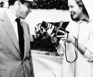 grace kelly and frank sinatra image