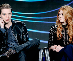 jace wayland, clary fray, and clace image