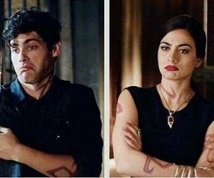 shadowhunters, alec lightwood, and emeraude toubia image