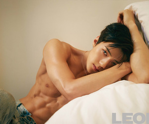 abs, exo, and fitness image