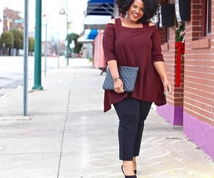 casual, curve, and plus size image