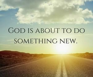 god and something new image