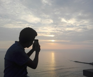 atardecer, foto, and pic image