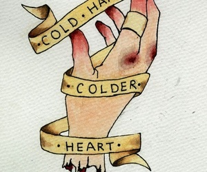 quotes, text, and cold hands image