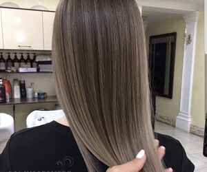 hair, long, and straight image