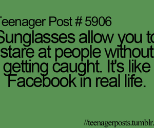 facebook, quote, and T image
