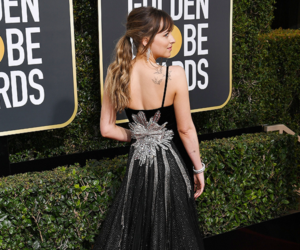 dress, fashion, and golden globes image