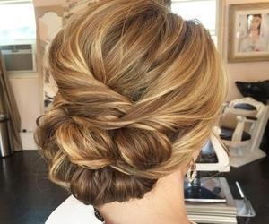 braid, braided hair, and hair image