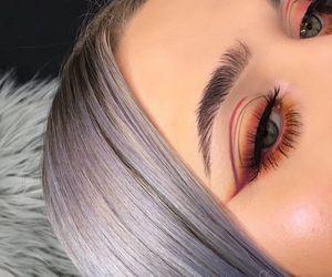 makeup, hair, and make image