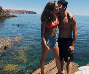 cute couple, goals, and kiss image