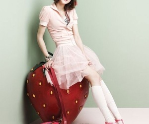 fashion, vogue girl korea, and girly image