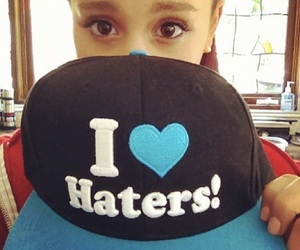 arianagrande and haters image