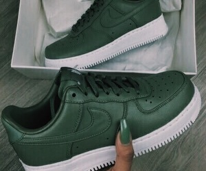 green, outfits, and sneakers image