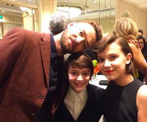 justin timberlake, eleven, and stranger things image