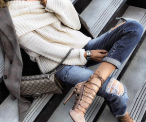 beige, chic, and girl image