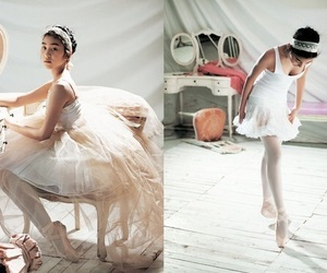 fashion, vogue girl korea, and ballet image