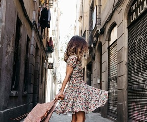 dress, travel, and fashion image
