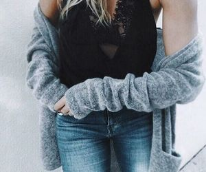 black, trends, and clothes image