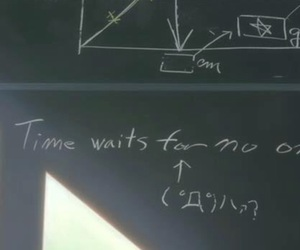 time waits for no one image