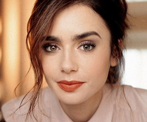 lily collins, beauty, and actress image