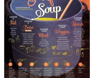 recipe, soup, and food image
