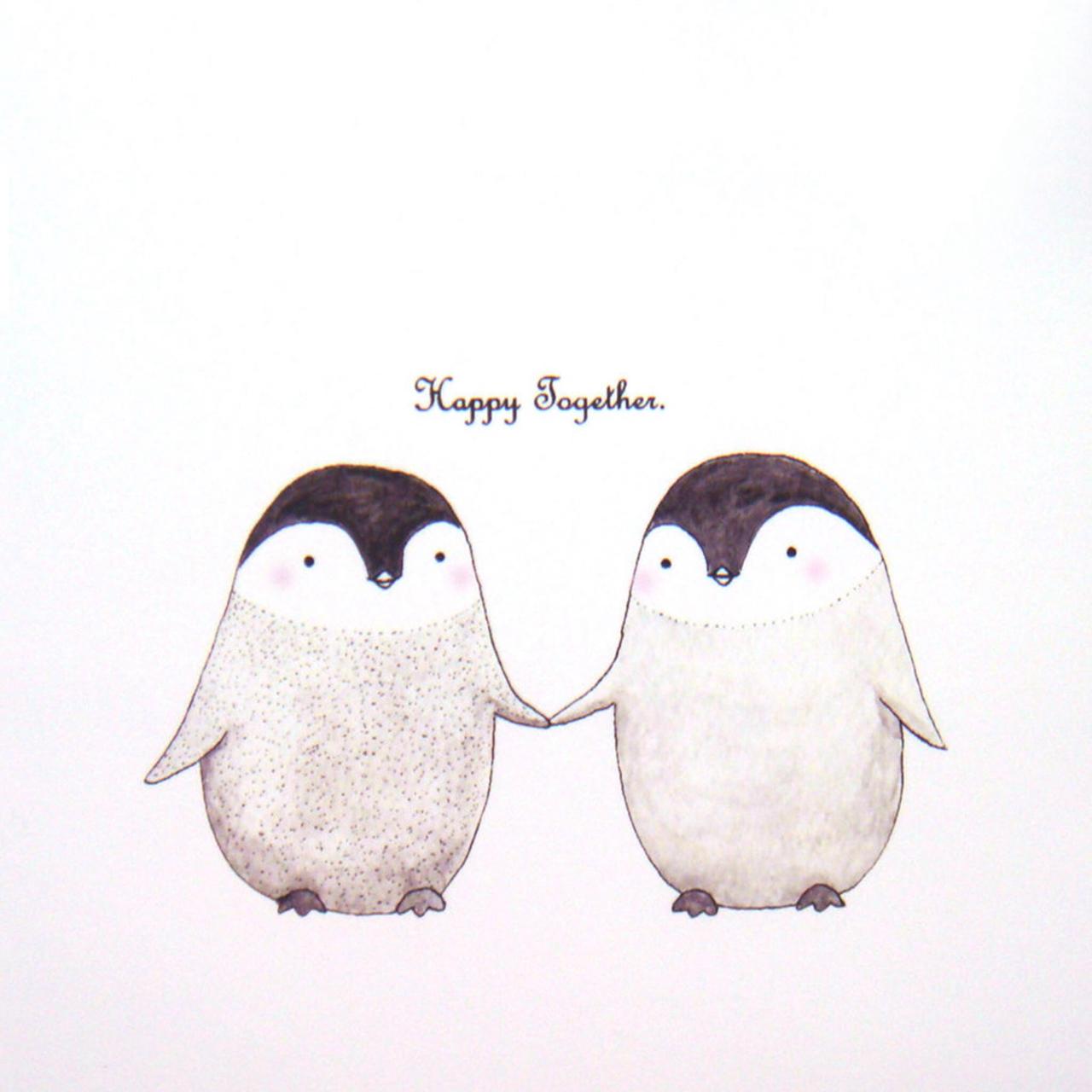 Cartoon Cute Friendship Love Quote Relationships Sweet Together Wallpaper Kawaii Cute