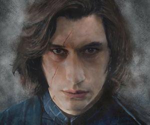 star wars, adam driver, and kylo ren image