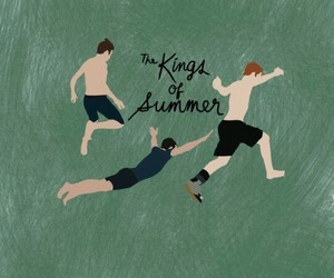 illustration, movies, and the kings of the summer image