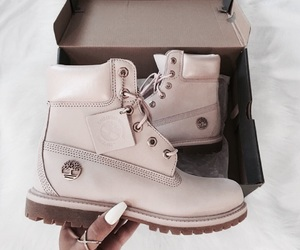 timberland, shoes, and fashion image
