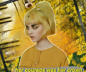 aesthetic, alternative, and courage image
