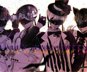 anime, Halloween, and 11s image