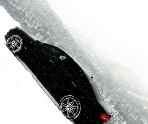 snow, winter, and audi image