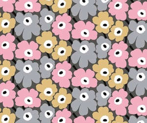 background, flower, and gray image