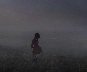 dark, fog, and girl image