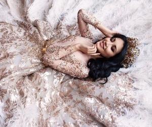 dress, girl, and luxury image