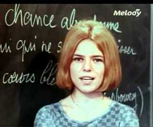 France Gall, rip, and video image