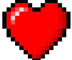 edit, overlay, and heart image