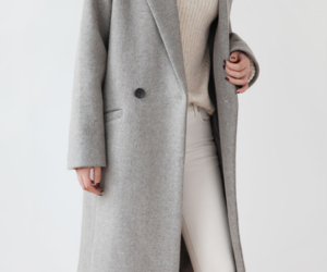 fashion, coat, and minimalism image