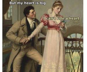 funny, heart, and meme image