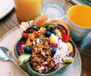 food, breakfast, and healthy food image