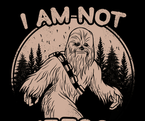 bigfoot, chewie, and funny image