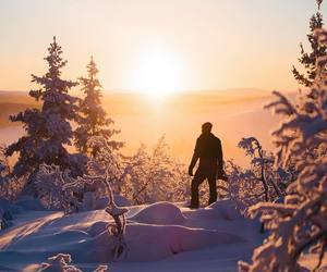 adventure, winter, and winter sun image