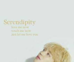 serendipity, bts, and wallpaper image