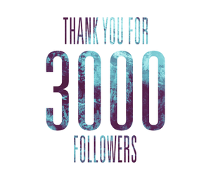 3000, followers, and quote image
