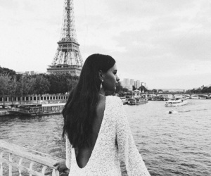 fashion, paris, and black and white image