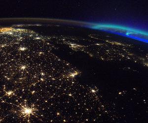 astronomy, aurora, and cosmos image