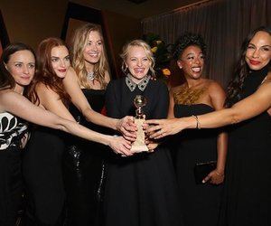 elisabeth moss, the handmaid's tale, and golden globes image